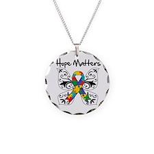 Hope Matters Autism Awareness Necklace