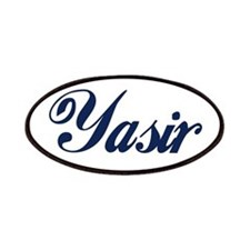 Yasir name Patches