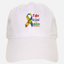 Take a Stand For Autism Baseball Baseball Cap