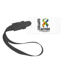 Support Autism Awareness Luggage Tag
