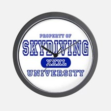 Skydiving University Wall Clock