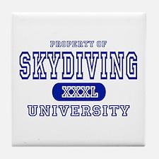 Skydiving University Tile Coaster
