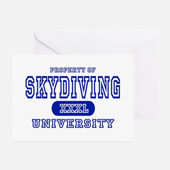 Skydiving University Greeting Cards (Pk of 10)