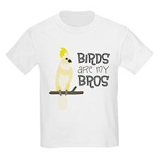 Birds Are My Bros Cockatoo T-Shirt