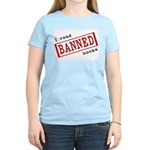 Banned Books Women's Pink T-Shirt
