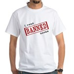 Banned Books White T-Shirt