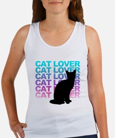 cat lover Tank Top