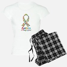 Autism Awareness Ribbon Pajamas