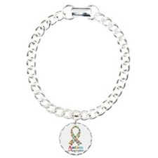 Autism Awareness Ribbon Bracelet