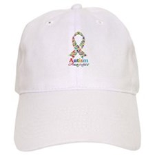 Autism Awareness Ribbon Baseball Cap
