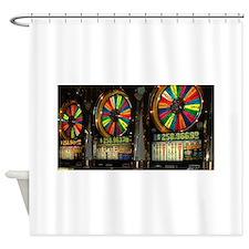 Las Vegas Slots Shower Curtain