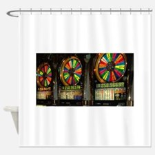 Las Vegas Slots Shower Curtain