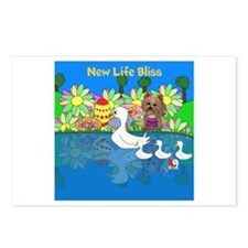 New Life Bliss Postcards (Package of 8)