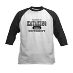 Kayaking University Kids Baseball Jersey