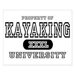 Kayaking University Posters