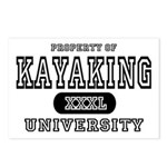 Kayaking University Postcards (Package of 8)