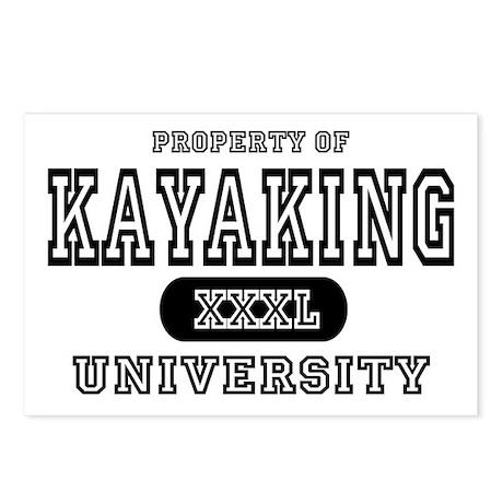 Kayaking University Postcards (Package of 8)