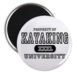 Kayaking University Magnet