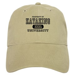 Kayaking University Baseball Cap