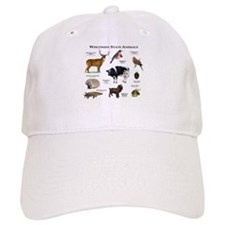 Wisconsin State Animals Baseball Cap
