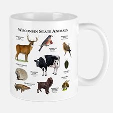 Wisconsin State Animals Mug
