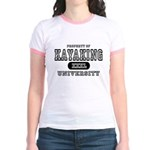 Kayaking University Jr. Ringer T-Shirt