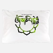 om mani.png Pillow Case