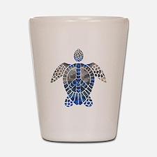 Sea Turtle Peace Shot Glass