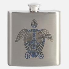 Sea Turtle Peace Flask