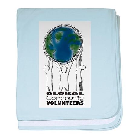 Global Community Volunteers baby blanket