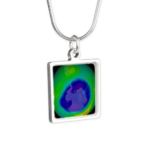 9 - Silver Square Necklace