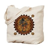 Belly dance Canvas Totes