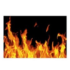 Flames Postcards (Package of 8)