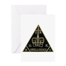 United Kingdom Intelligence Greeting Card