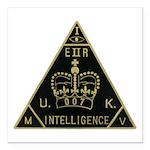 United Kingdom Intelligence Square Car Magnet 3