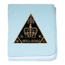 United Kingdom Intelligence baby blanket