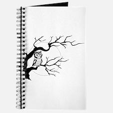 owl on full moon Journal