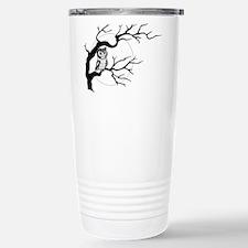 owl on full moon Travel Mug
