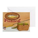 Fishing NoteCards (Pk of 10)