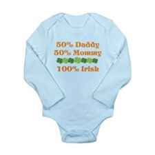 50% Long Sleeve Infant Bodysuit