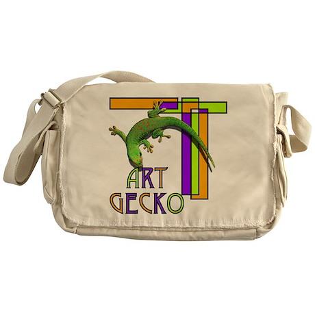 art gecko-2.png Messenger Bag