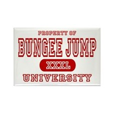 Bungee Jump University Rectangle Magnet