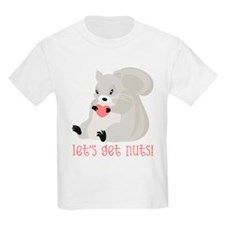 Let's Get Nuts Squirrel T-Shirt