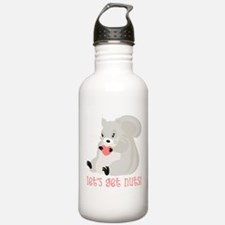 Let's Get Nuts Squirrel Water Bottle