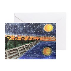 New Orleans Valentines Greeting Cards (Package of