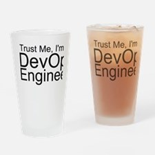 Trust Me, I'm A DevOps Engineer Drinking Glass