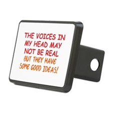 Voices in my Head Hitch Cover