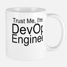Trust Me, I'm A DevOps Engineer Mugs