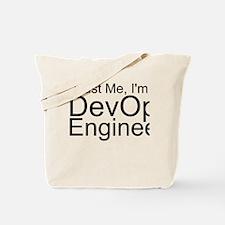 Trust Me, I'm A DevOps Engineer Tote Bag