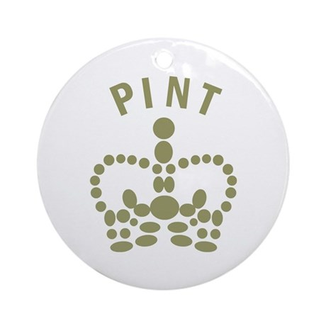 Pint Ornament (Round)
